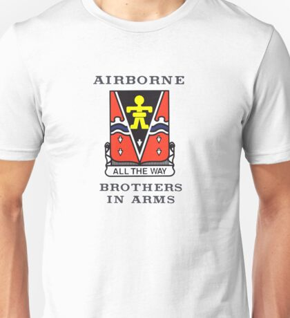 509th Airborne - Brothers in Arms Unisex T-Shirt