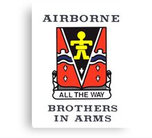 509th Airborne - Brothers in Arms Canvas Print