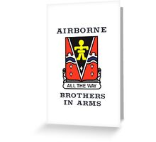 509th Airborne - Brothers in Arms Greeting Card