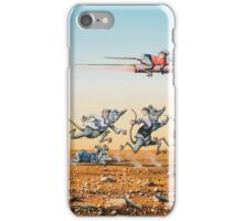 Leaving the Rat Race iPhone Case/Skin