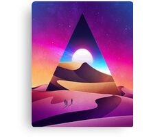 Psychedelically Smooth Sci-Fi Canvas Print