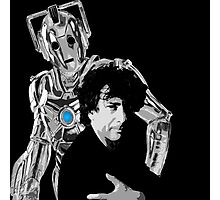 Neil and the Cyberman Photographic Print
