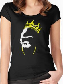 The King Big Papa Harambe R.I.P Women's Fitted Scoop T-Shirt
