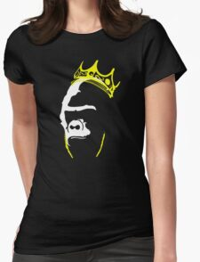 The King Big Papa Harambe R.I.P Womens Fitted T-Shirt