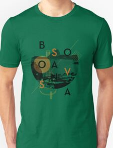 Bossa Nova Collage Unisex T-Shirt