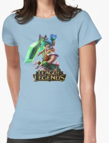 Arcade Riven - League of Legends Womens Fitted T-Shirt