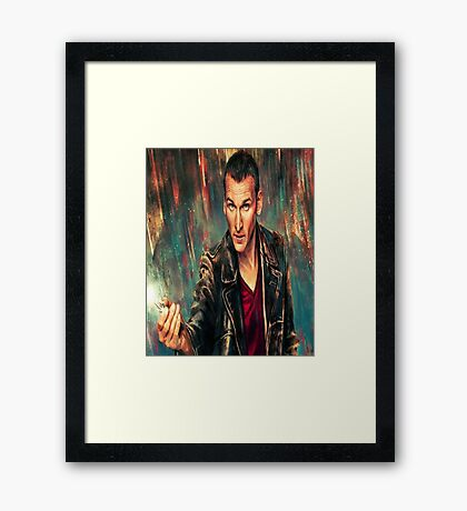 9th Doctor Framed Print