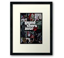 Block B / GTA Framed Print