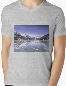 Still: Glacier Bay National Park, Alaska Mens V-Neck T-Shirt