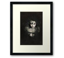 Queen of Shadows Framed Print