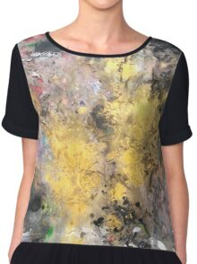 Power From Within 'Rain Painting' Chiffon Top