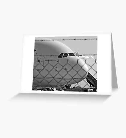 Caged Bird  Greeting Card