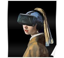 Girl With The Oculus Rift Poster