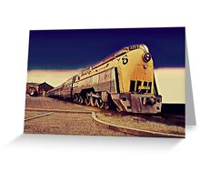 ALCO 4-6-4  Hudson Type Locomotive Greeting Card