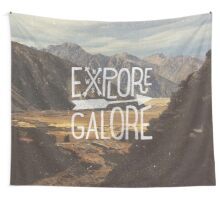 Explore Galore Wall Tapestry