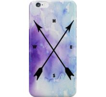 Compass Watercolor iPhone Case/Skin
