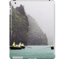Rain & Rowboats: Life in Halong Bay, Vietnam  iPad Case/Skin