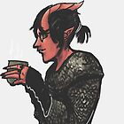 Tiefling Tea Time by Scott Higginbotham