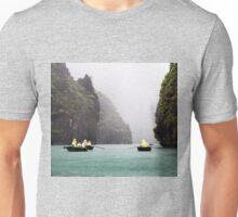 Rain & Rowboats: Life in Halong Bay, Vietnam  Unisex T-Shirt
