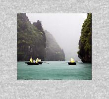 Rain & Rowboats: Life in Halong Bay, Vietnam  Unisex T-Shirt