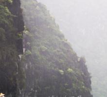 Rain & Rowboats: Life in Halong Bay, Vietnam  Sticker