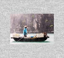 Rain & Rowboat: Life in Halong Bay, Vietnam  Unisex T-Shirt