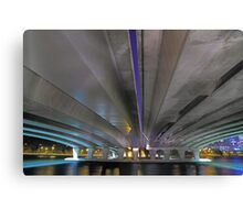 Under The Narrows Bridges  Canvas Print