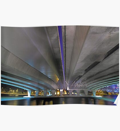 Under The Narrows Bridges  Poster