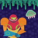 Metroid by Bryant Almonte Design
