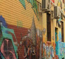 Melbourne City Graffiti Sticker