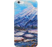 Majestic Rise - natural iPhone Case/Skin