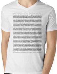 john mayer's discography Mens V-Neck T-Shirt