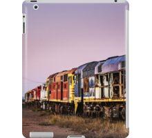 Working Trains iPad Case/Skin
