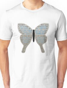 Butterfly Effect Picture Poem (V2) T-Shirt