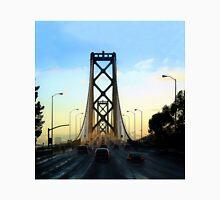 After a Cold Winter Rain on the San Francisco Oakland Bay Bridge Unisex T-Shirt