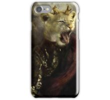 joffrey : king lion iPhone Case/Skin