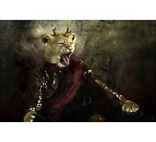 joffrey : king lion Photographic Print