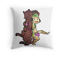 Smite - As Bright as Starlight (Chibi) Throw Pillow