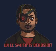 will Smith is Deadshot One Piece - Short Sleeve