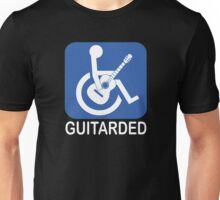 Guitarded Funny Joke Guitar Shirt Unisex T-Shirt