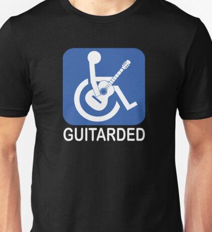 Guitarded Funny Joke Guitar Shirt Unisex T-Shirt