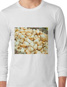 Close up shot of seasoned Pickled Garlic Long Sleeve T-Shirt