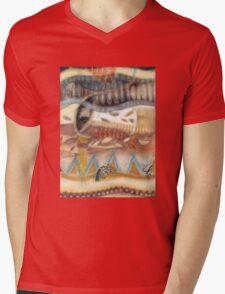 Tropical Fusions (Panel 2 of 4) Mens V-Neck T-Shirt