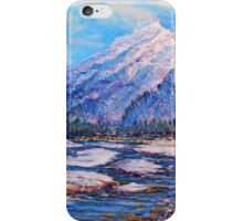 Majestic Peak - impressionism iPhone Case/Skin