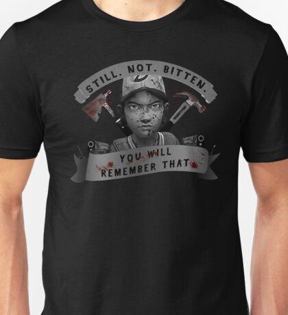 Clementine Still Not Bitten (V.4) Unisex T-Shirt