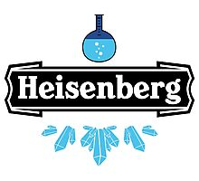 Heisenberg Crystal Meth Walter White Photographic Print