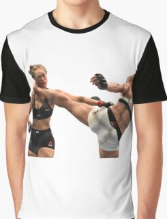 Holm  vs Rousey Graphic T-Shirt
