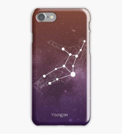 Youngjae as Virgo iPhone Case/Skin
