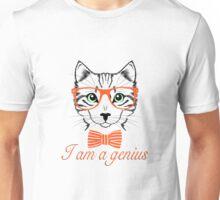I'am a genius - Meow Edition. Unisex T-Shirt