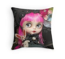 Alice: The Blythe Doll Throw Pillow
